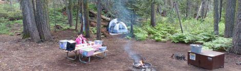 ヨセミテ国立公園 クレーン フラットキャンプ場