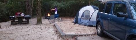 アメリカのキャンプ場